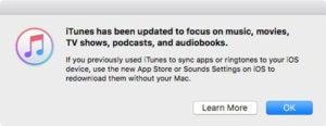 itunes 127 disclaimer itunes iTunes 12.7 for Mac removes iOS app store itunes 127 disclaimer 100735582 medium
