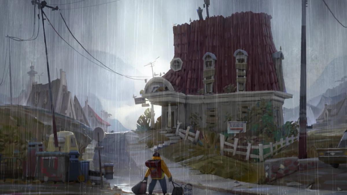 journey rain memory