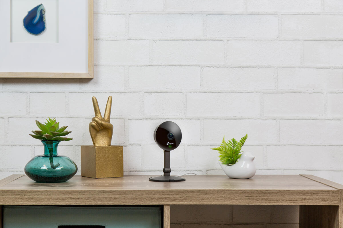photo image TP-Link's Kasa Cam is the company's first home security camera