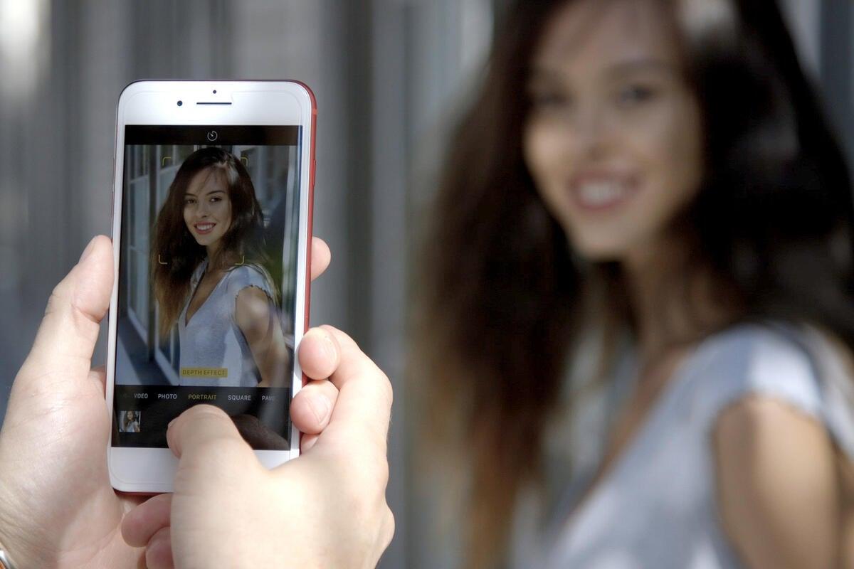 вас как снять удачное фото на айфон верхний скоро родится