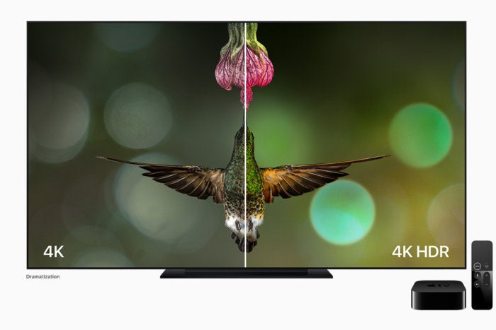 4k HDR view