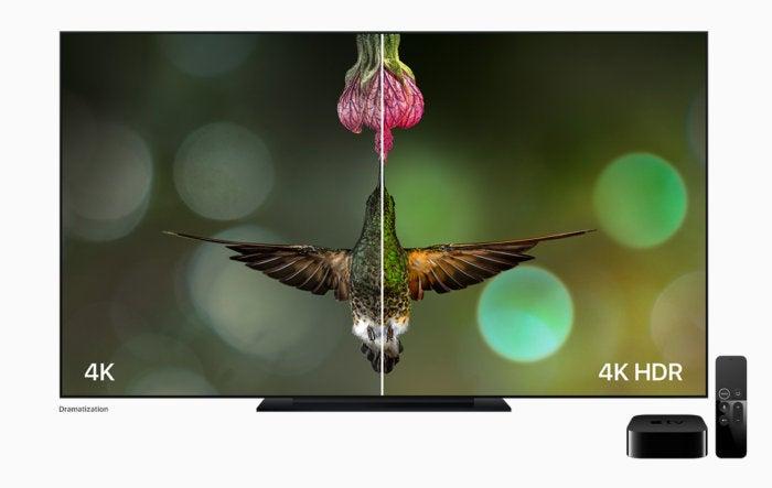 new appletv hummingbird 4k hdr comparison