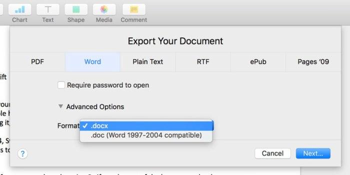 So öffnen Sie Microsoft Word-Dokumente in Apple-Seiten auf einem Mac