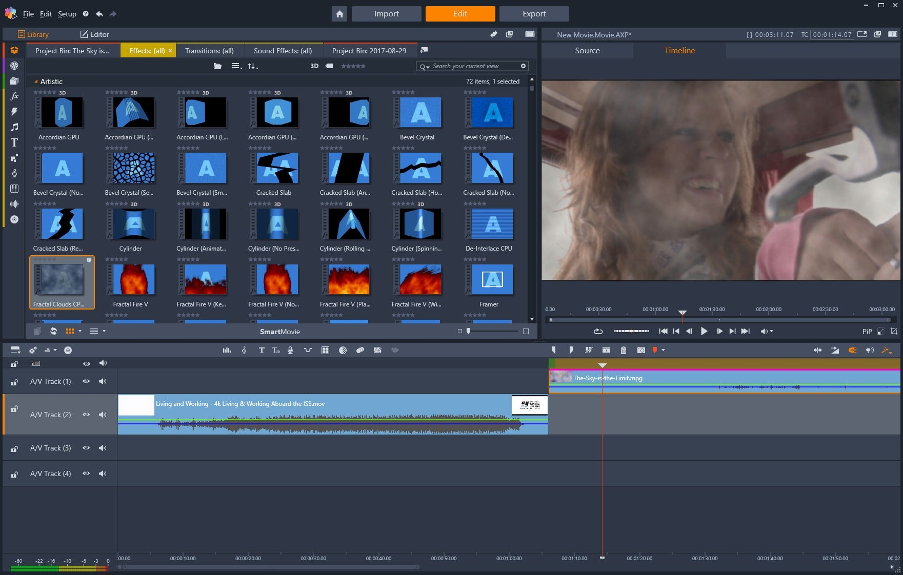 Pinnacle Studio video editing software & screen recorder