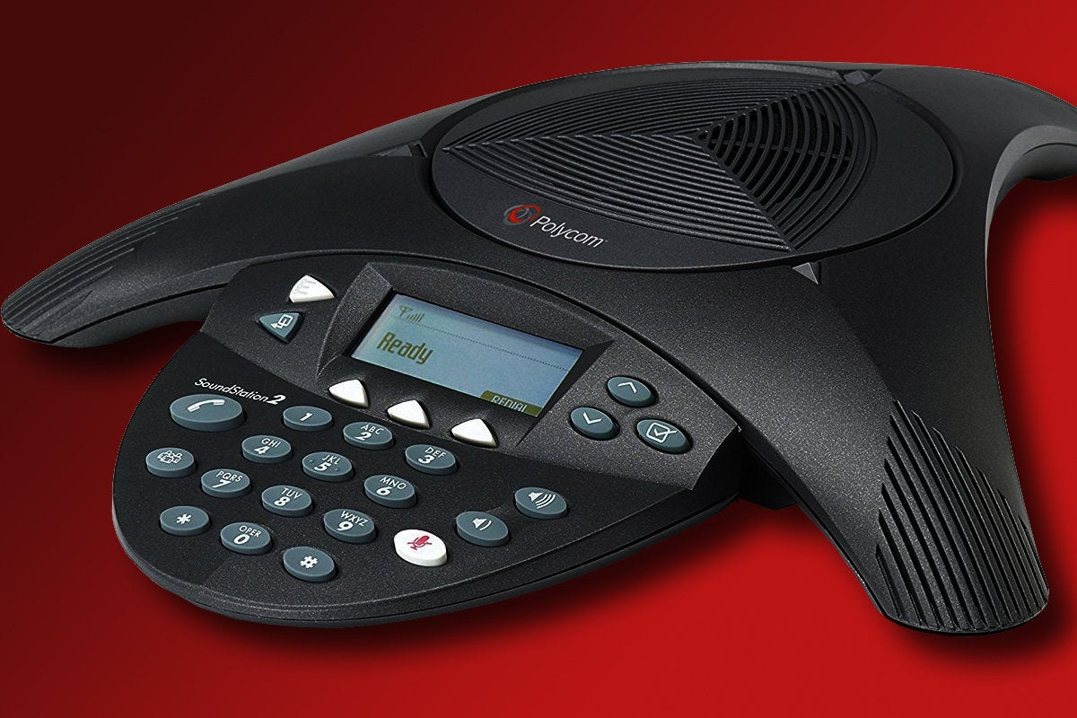 Polycom conference phone for business