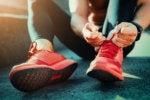 running shoes runner