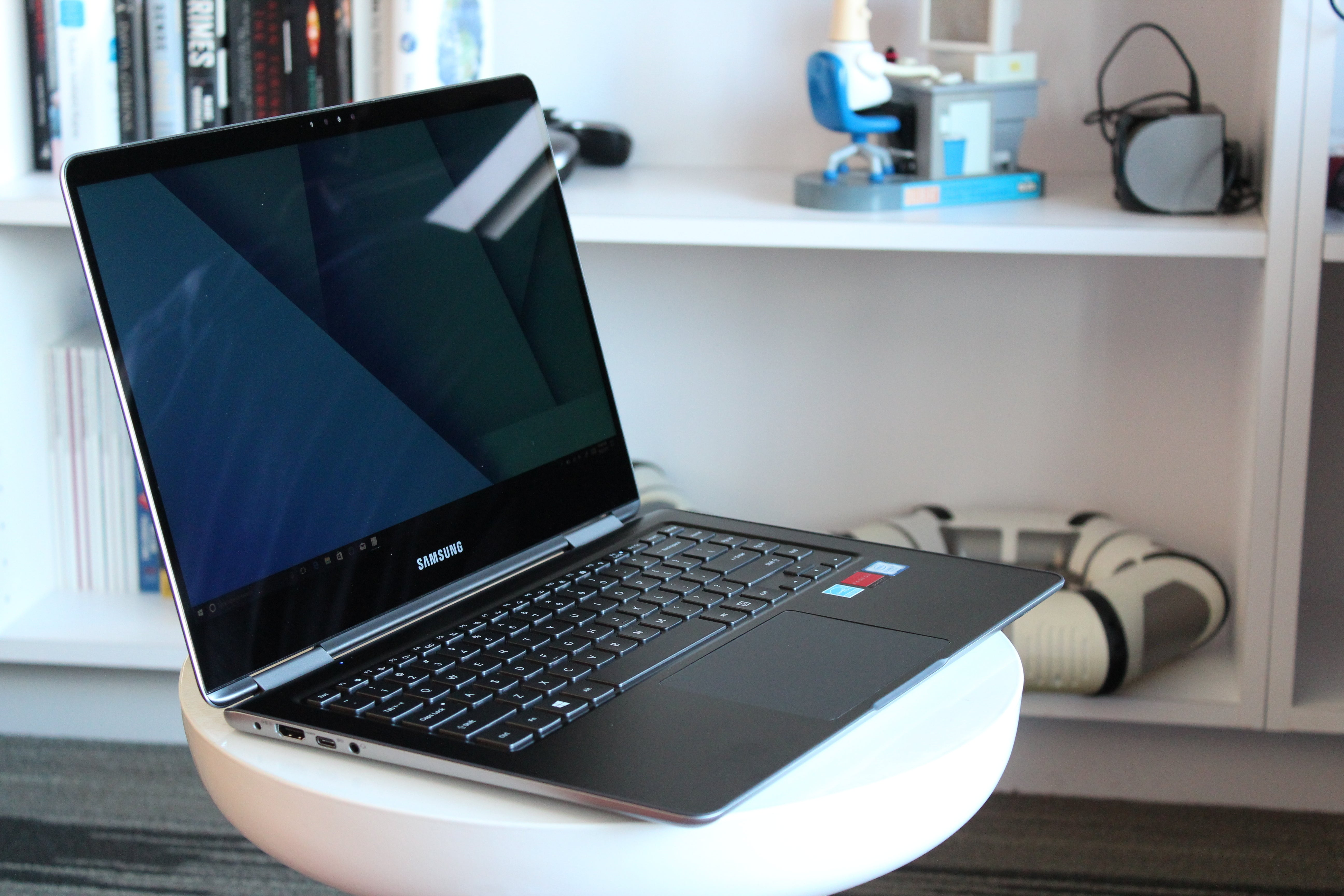 Samsung Notebook 9 Pro Review Good At Almost Everything Including Laptop Power Cord Wire Diagram Light Gaming Pcworld