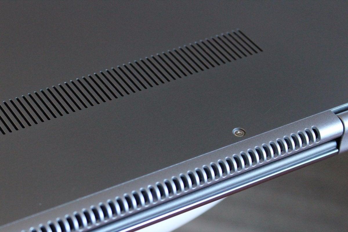 samsung notebook 9 pro ventilation grilles