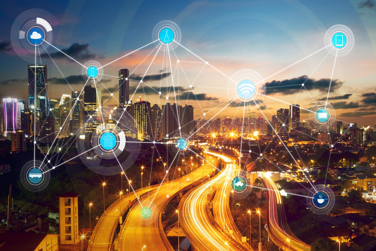 smart city - wireless network - internet of things edge [IoT] - edge computing