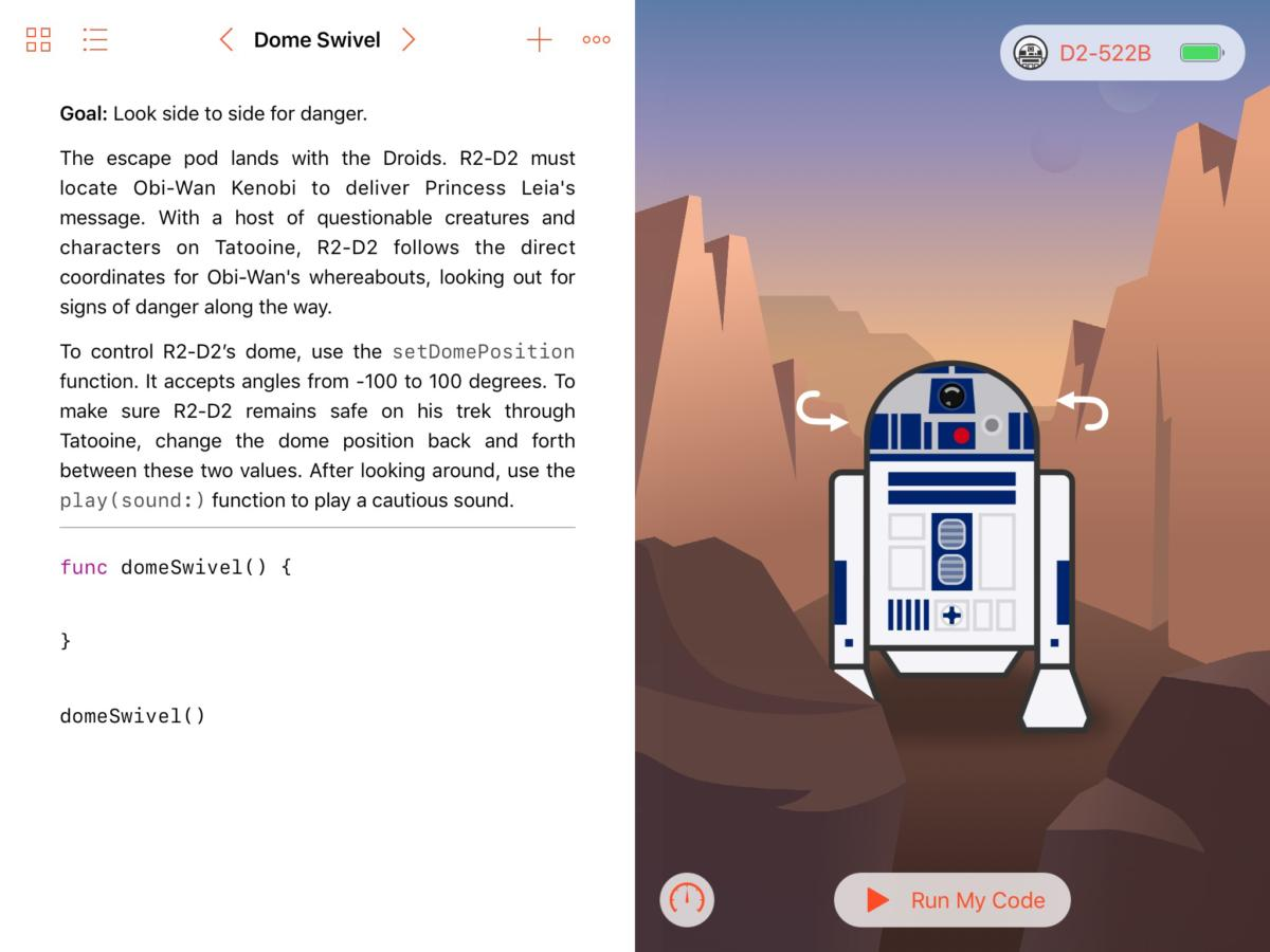 sphero r2d2 swift