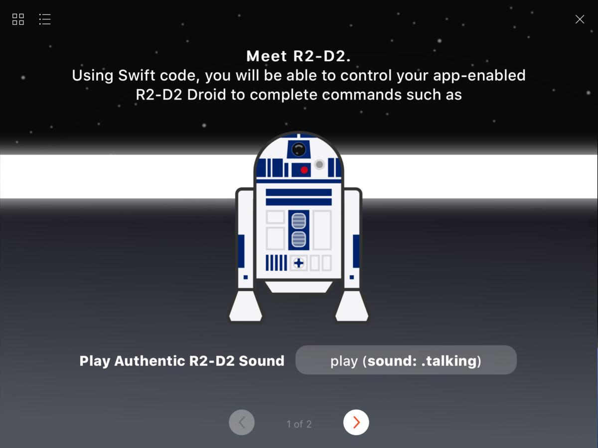 sphero r2d2 swiftintro