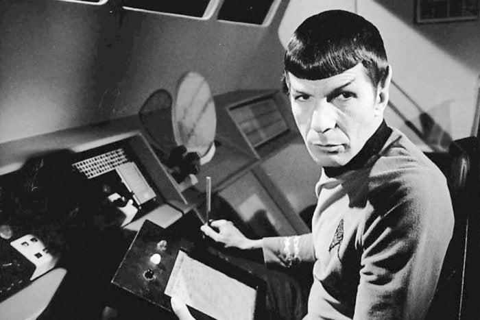 star trek spock nimoy