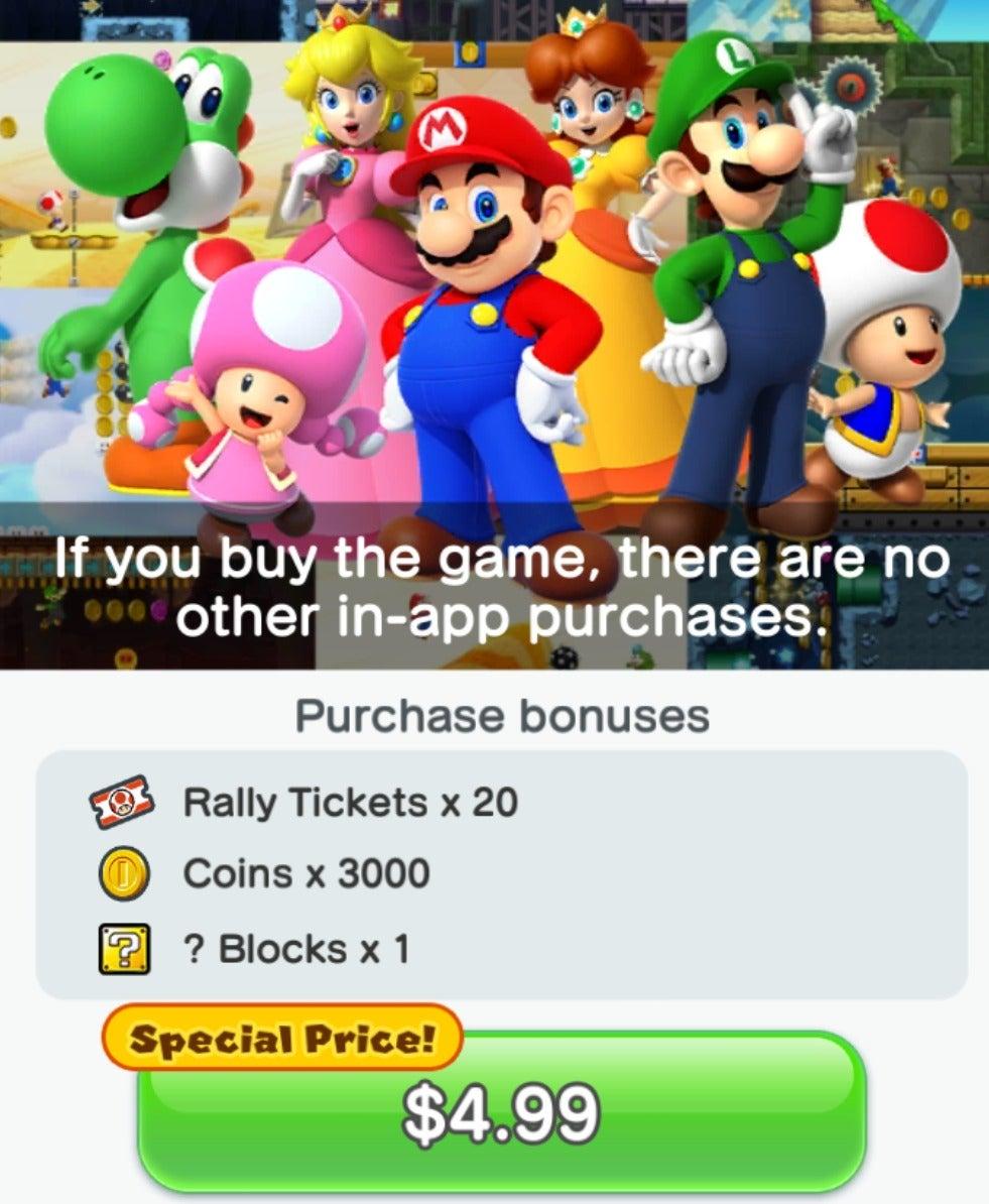 App Super Mario
