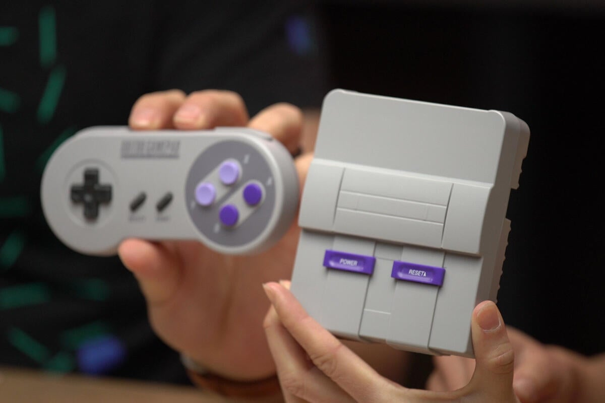 Watch us build a SNES Classic RetroPie emulator console