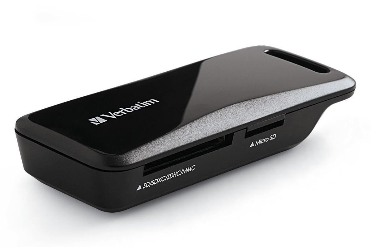 Verbatim USB-C Pocket Card Reader review | Macworld