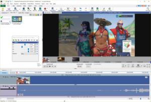 videopad video editor effects and timeline