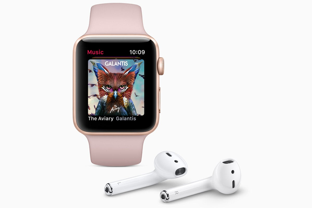 watch series 3 music airpods