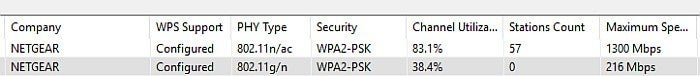 wifi info view problem