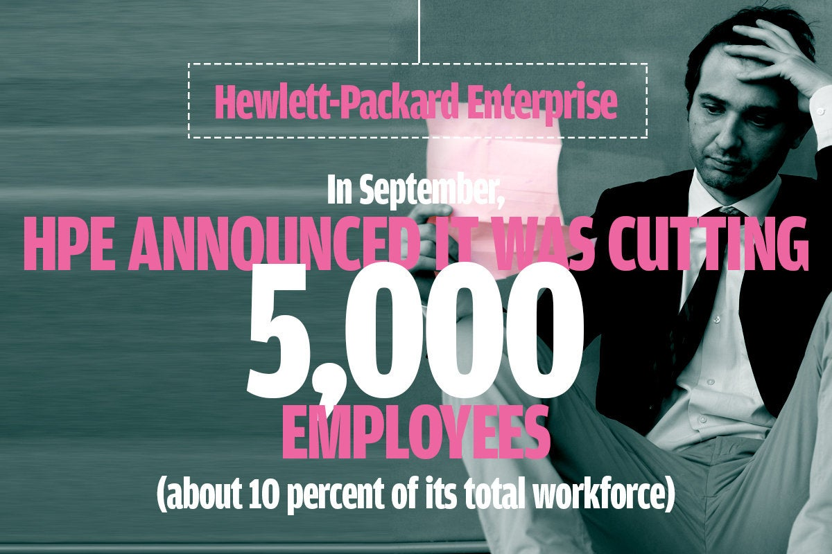 HPE layoffs