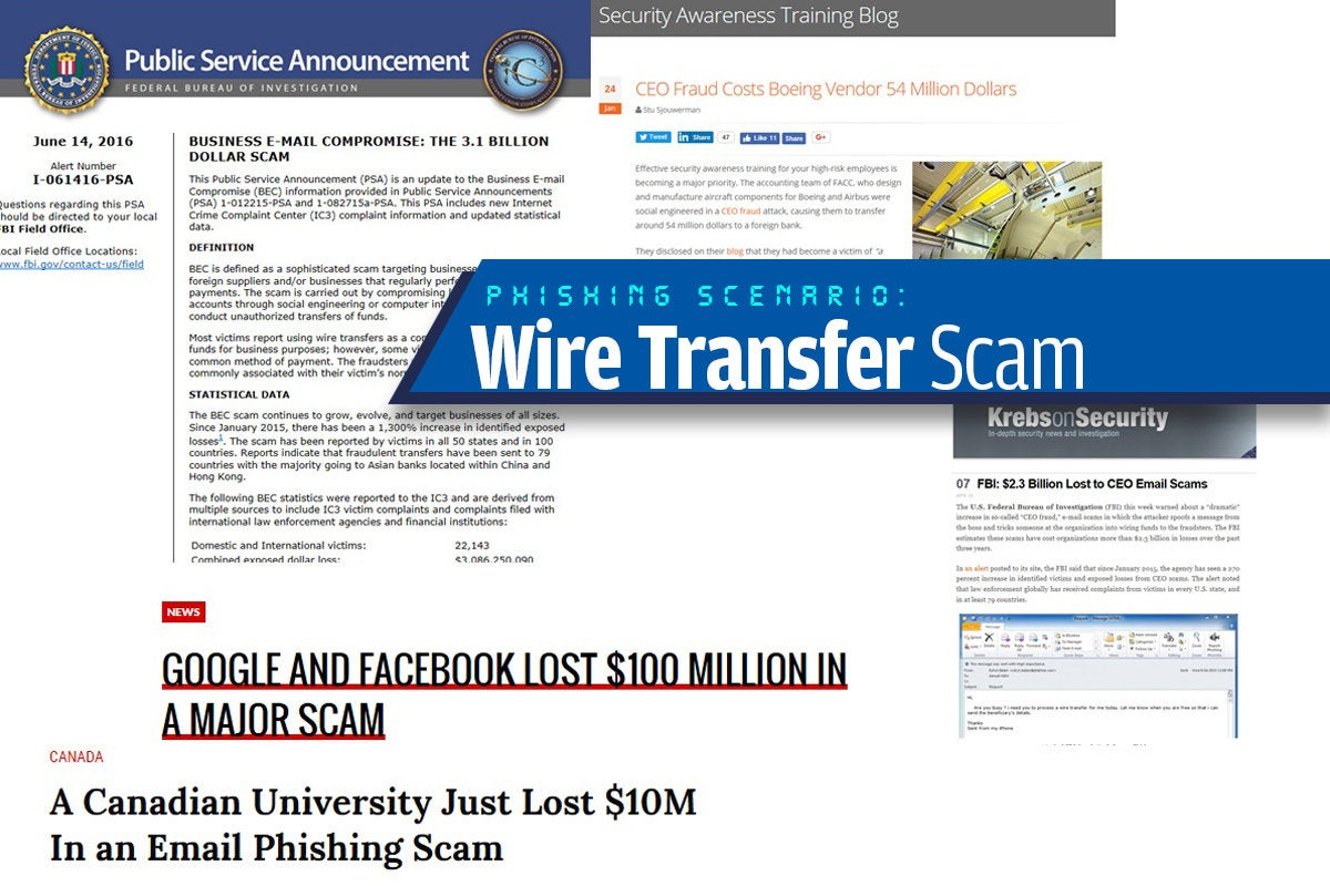 10a wire transfer scam