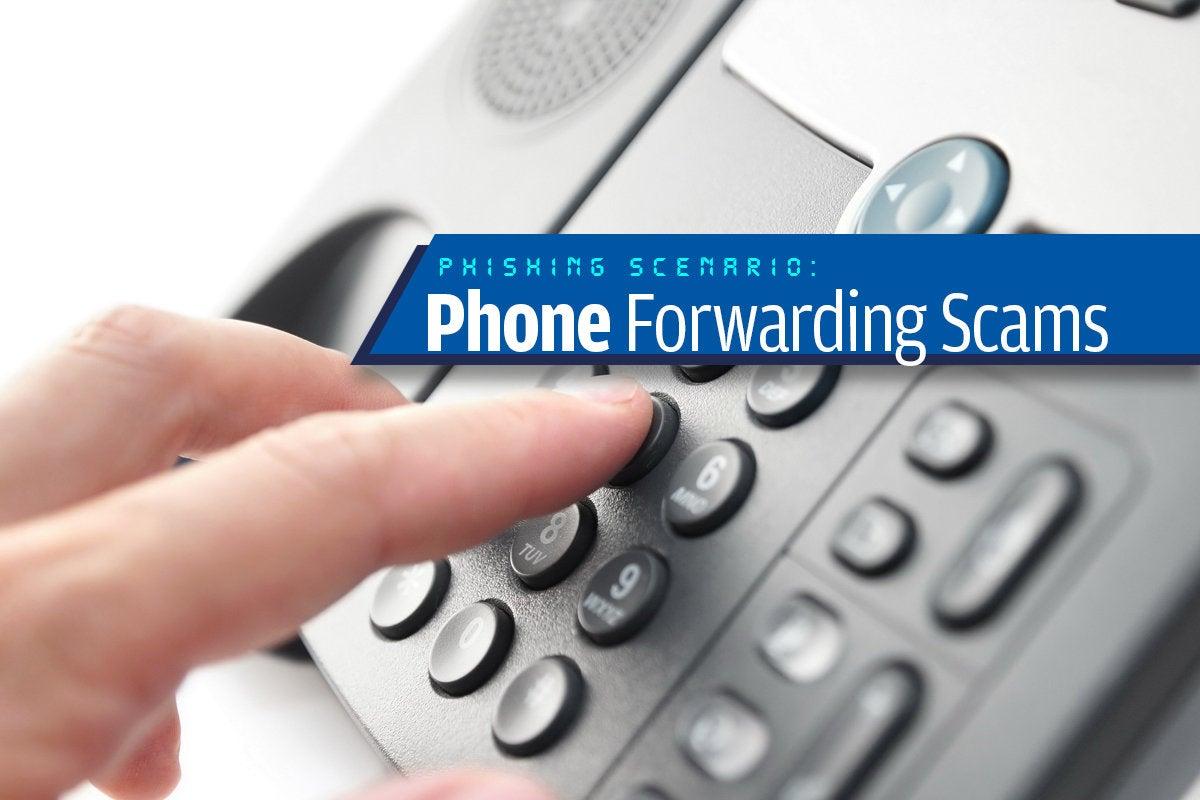 12a phone forwarding scams