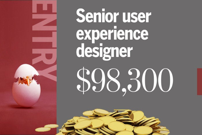 4. Senior user experience designer