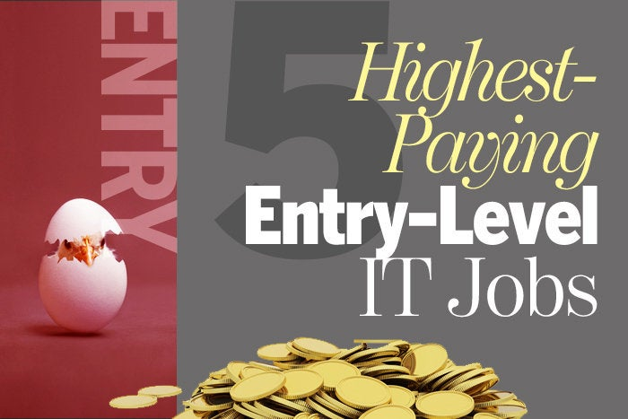 5 highest-paying entry-level IT jobs