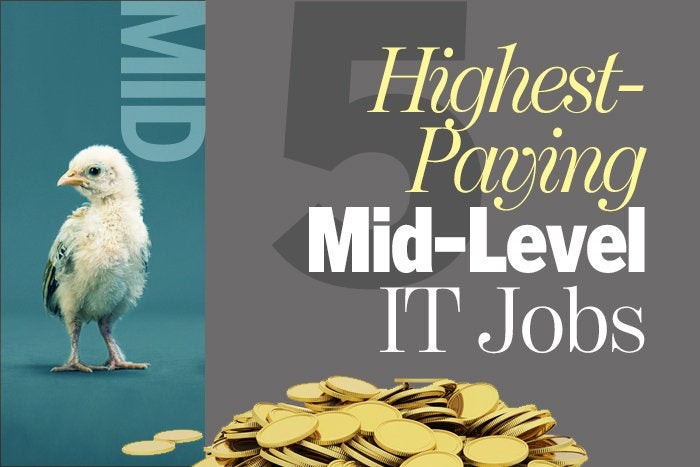 5 highest-paying mid-level IT jobs