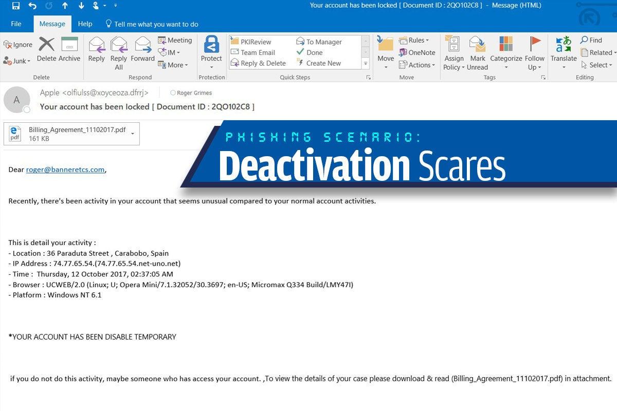 2a deactivation scares