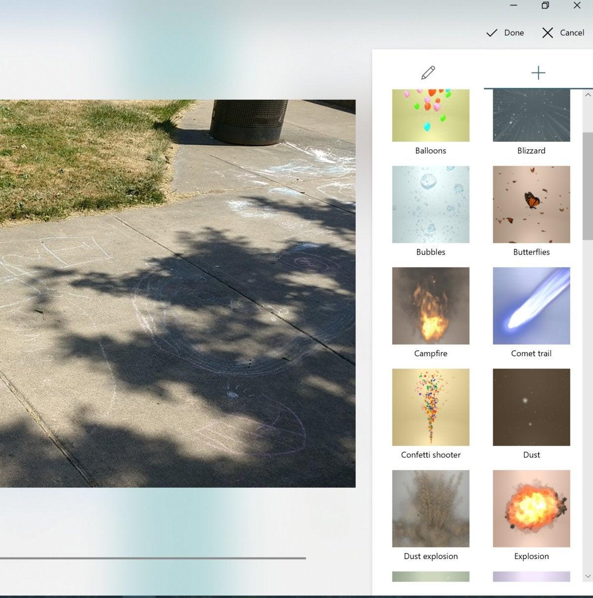 Story Remix Photos Windows 10 Fall Creators Update 3d effects