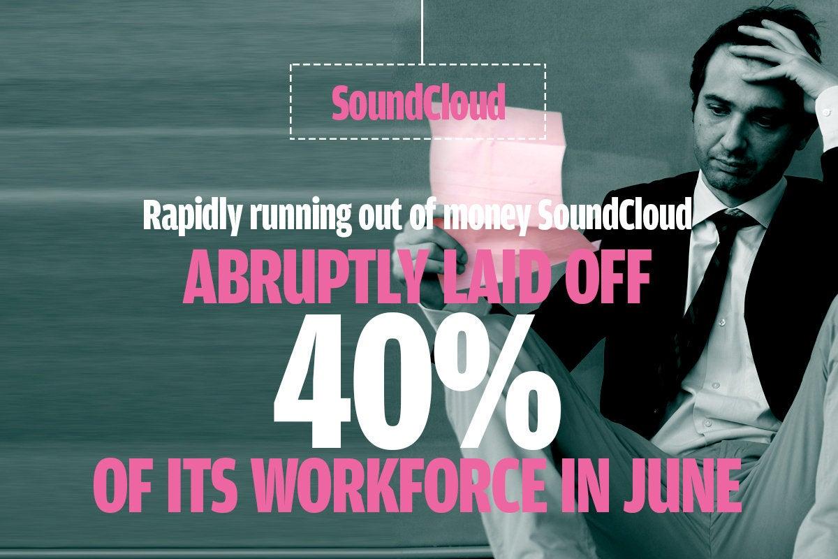 SoundCloud layoff