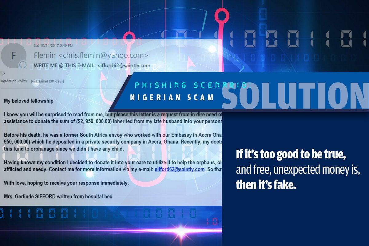 4b nigerian scam
