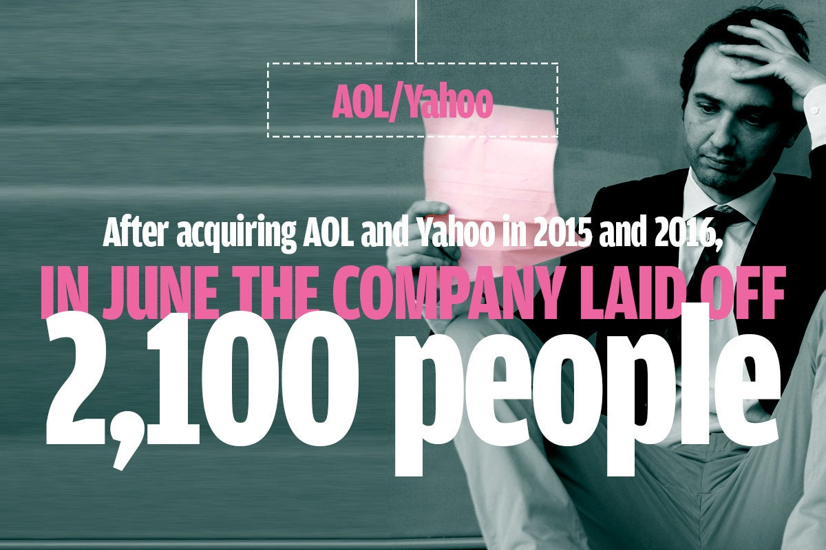Aol Yahoo layoffs