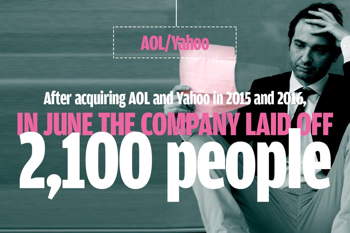 Aol Yahoo layoffs