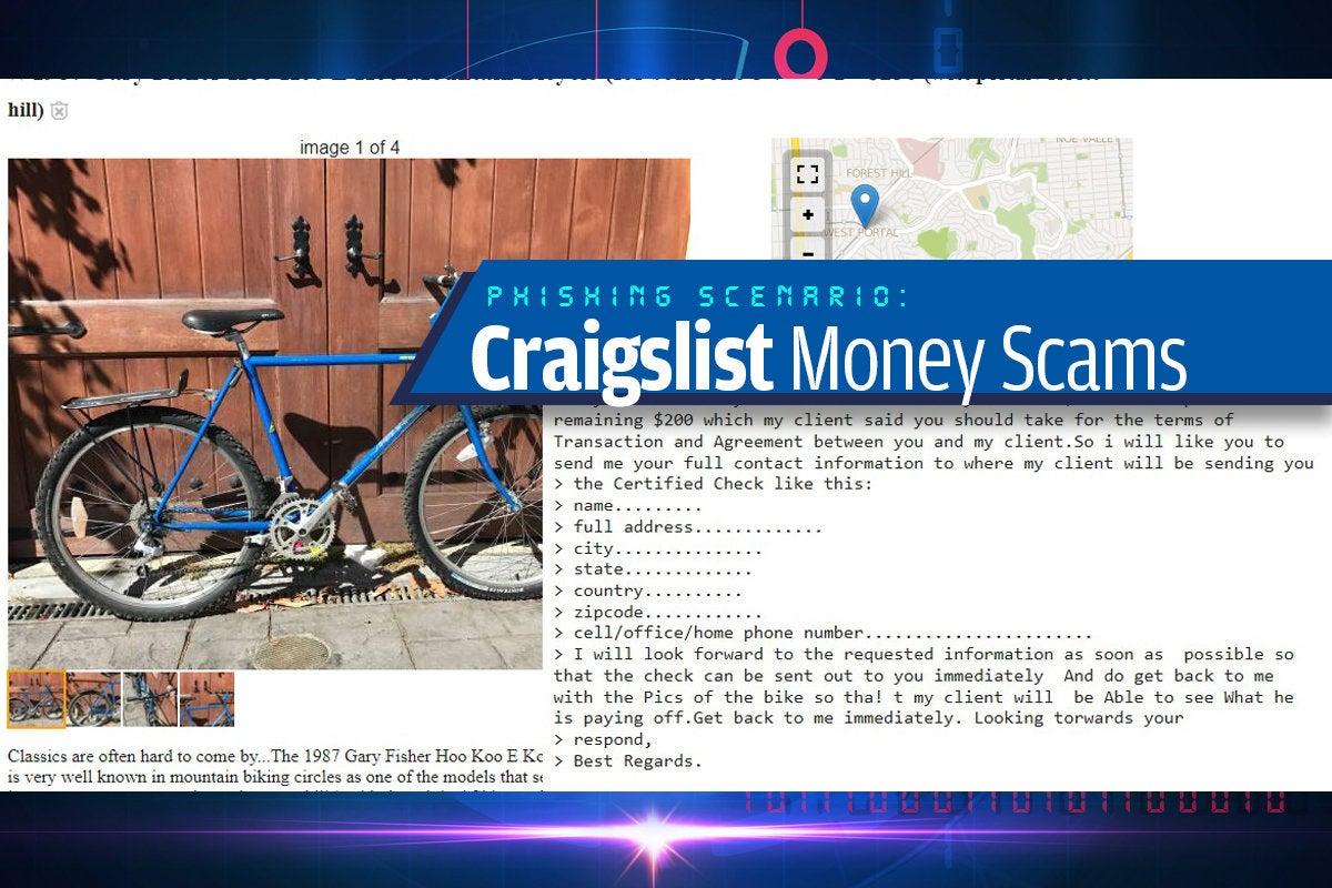 8a craigslist monehy scams