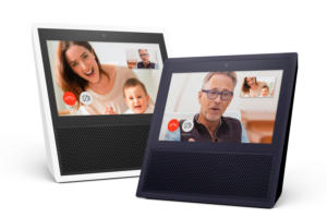 amazon echo show black and white