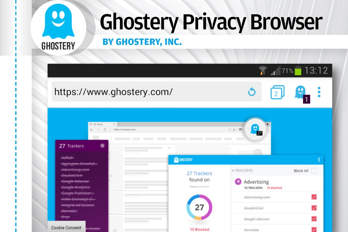 Alternatives to Android's Chrome - Ghostery Privacy Browser