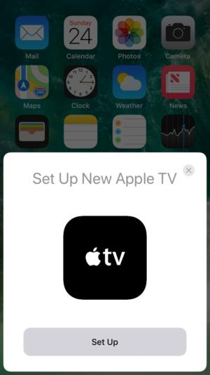 apple tv setup