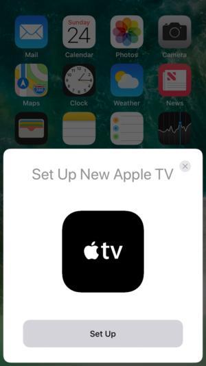 apple tv setup