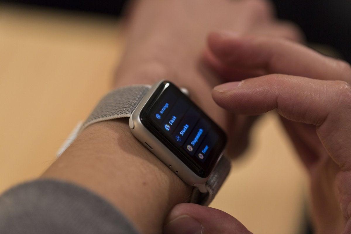 apple watch series 3 app list