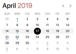 april 2019