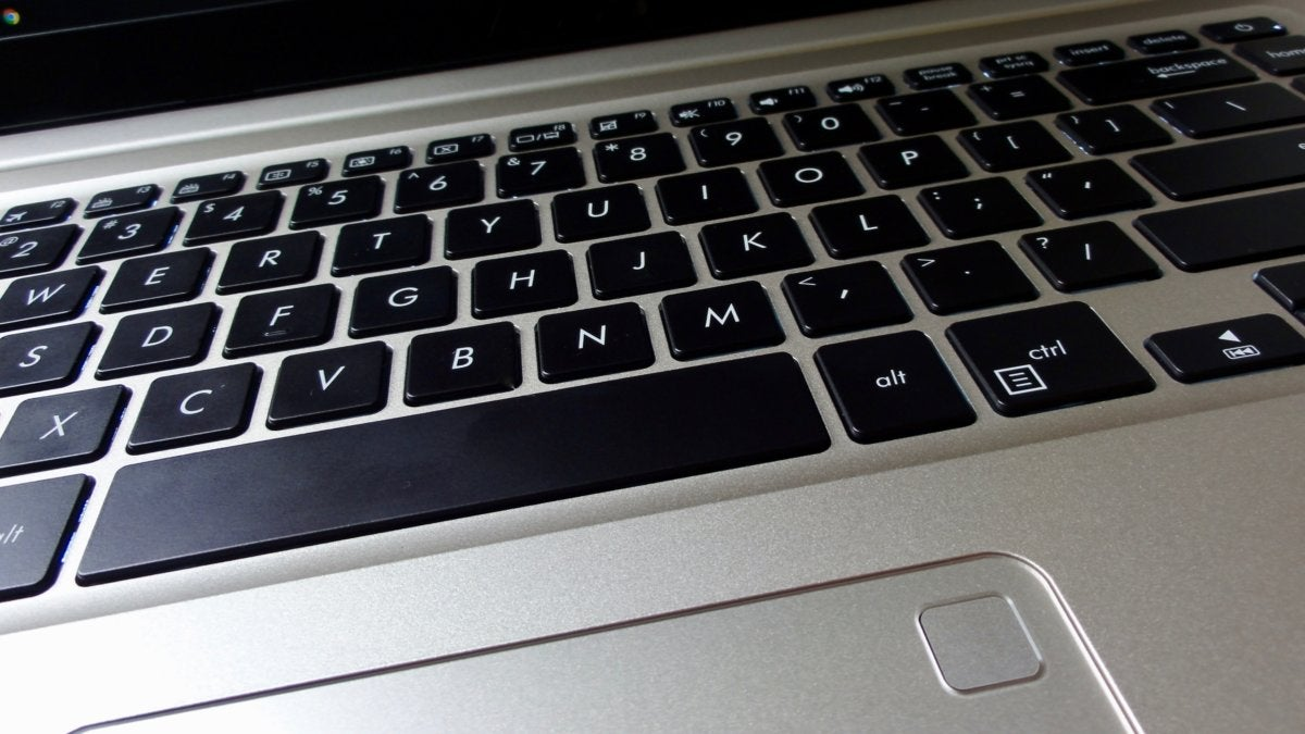 VivoBook S510 keyboard and fingerprint reader
