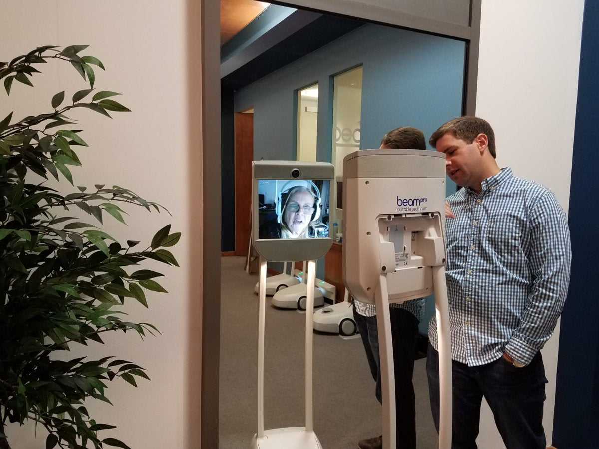 Suitable Technologies Beam telepresence
