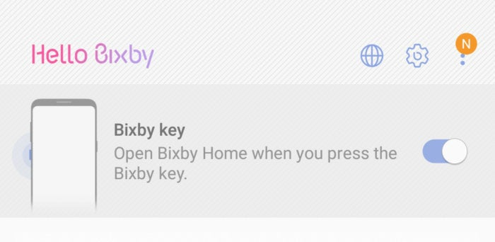 bixby off button Note 8