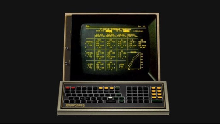 bloomberg old terminal