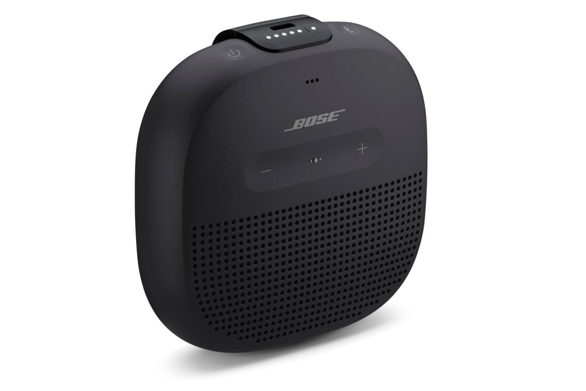 photo image Bose Soundlink Micro review: This very tiny Bluetooth speaker delivers great big sound