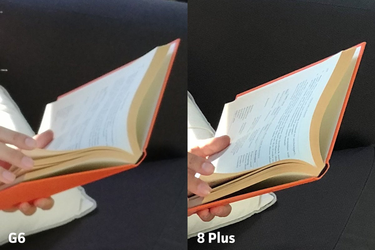 LG G6 vs Apple iPhone 8 Plus clarity1punch