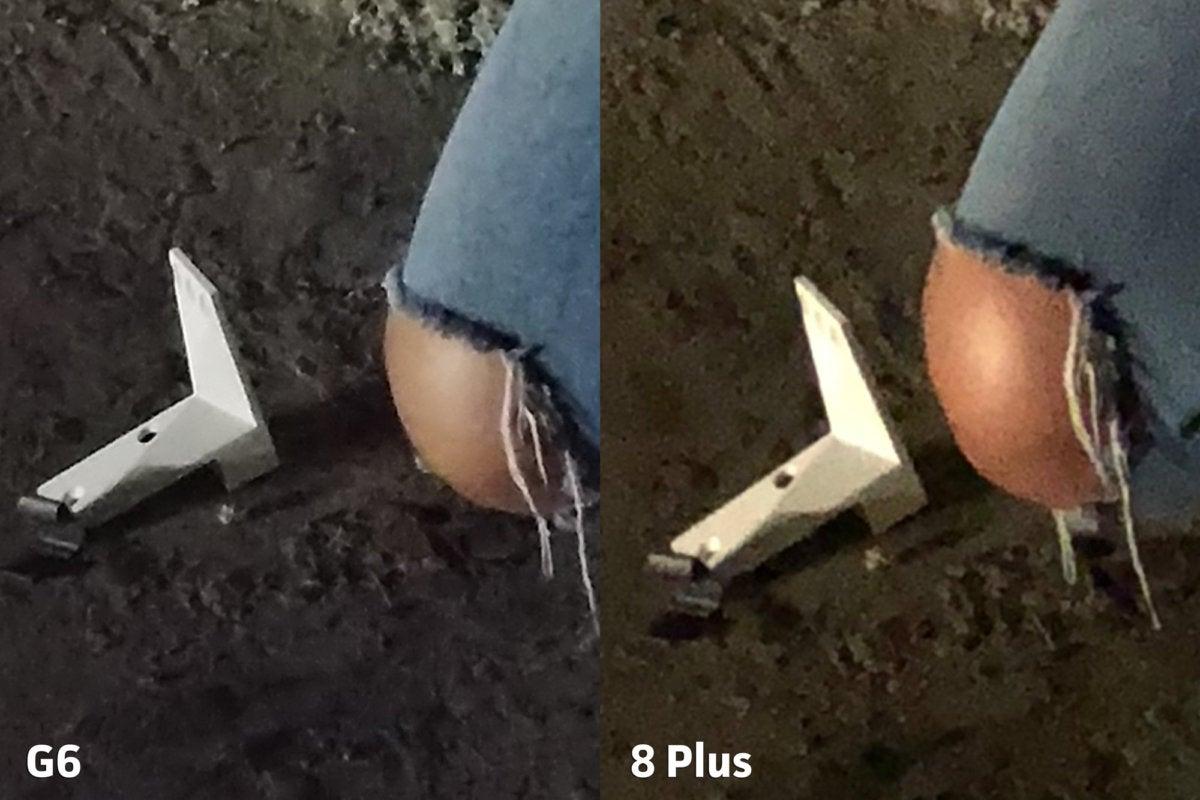 LG G6 vs Apple iPhone 8 Plus clarity3punch