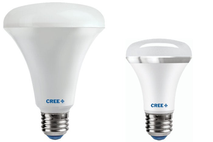 cree br30 and r20 replacement led floods review techhive. Black Bedroom Furniture Sets. Home Design Ideas