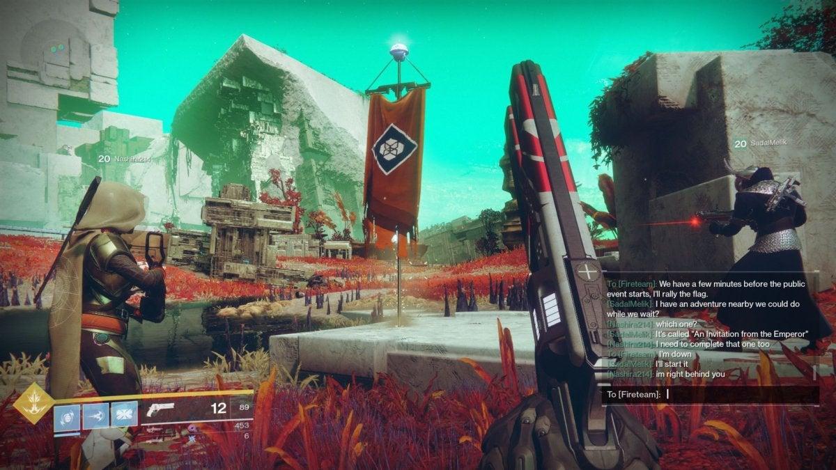 destiny 2 team chat